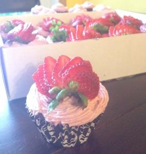 Strawbarry Cupcakes