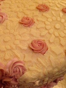 roses and lace Cake