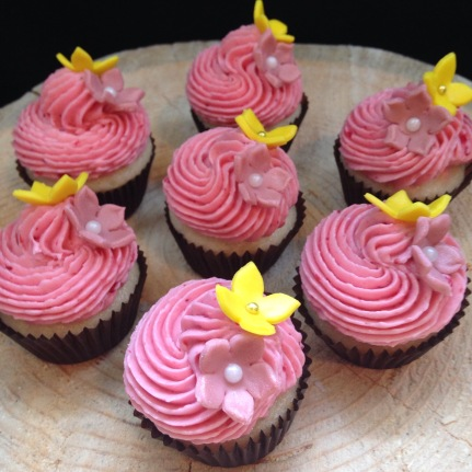 Lemon raspberry cupcakes