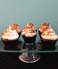 Ginger bread cupcakes
