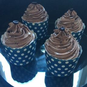 Gluten free mocha mini cakes