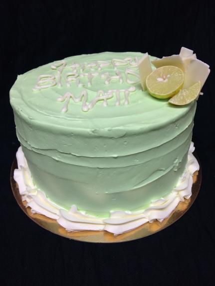 Key lime cake
