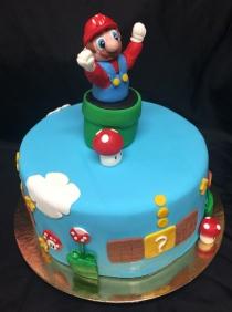 Supper Mario cake