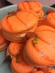 Pumpkin Macaroons