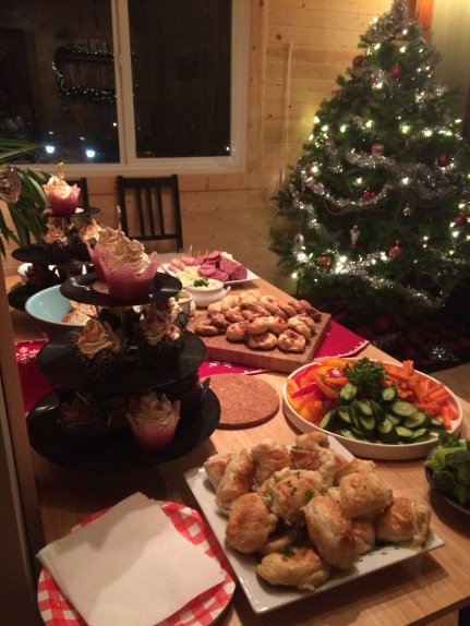 Christmas party catering by Cake Betty
