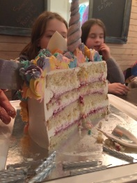 Unicorn birthday party at Cake Betty Cafe & Cakery