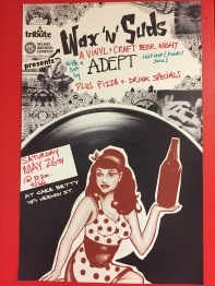 Vinyl craft beer nights at Cake Betty Cafe & Cakery