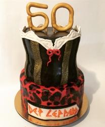 Def Leppard cake