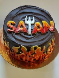SATAN CAKE!