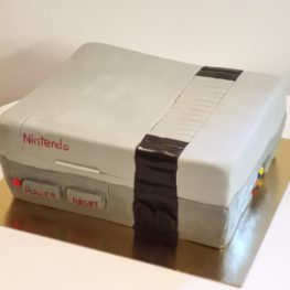 Nintendo 64 cake