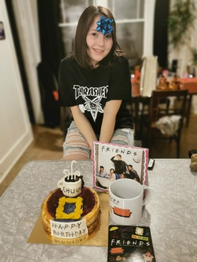 Friends themed birthday